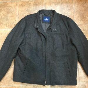 Old Navy Men's Wool Bomber Jacket - XXL